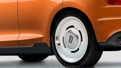 Nuova Fiat 500e render