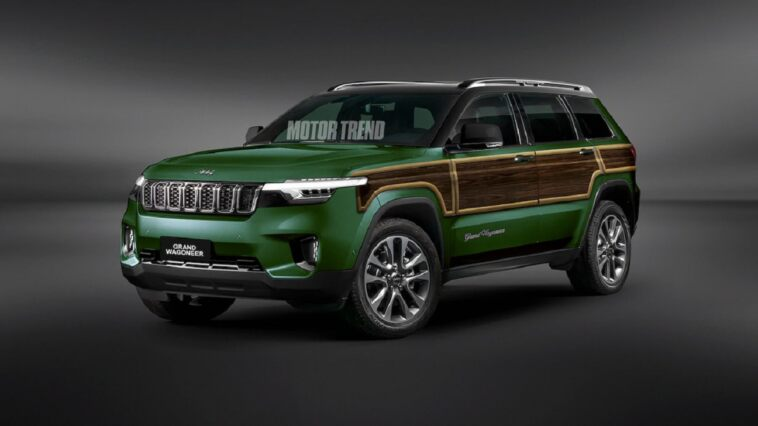 Nuovo Jeep Grand Wagoneer render