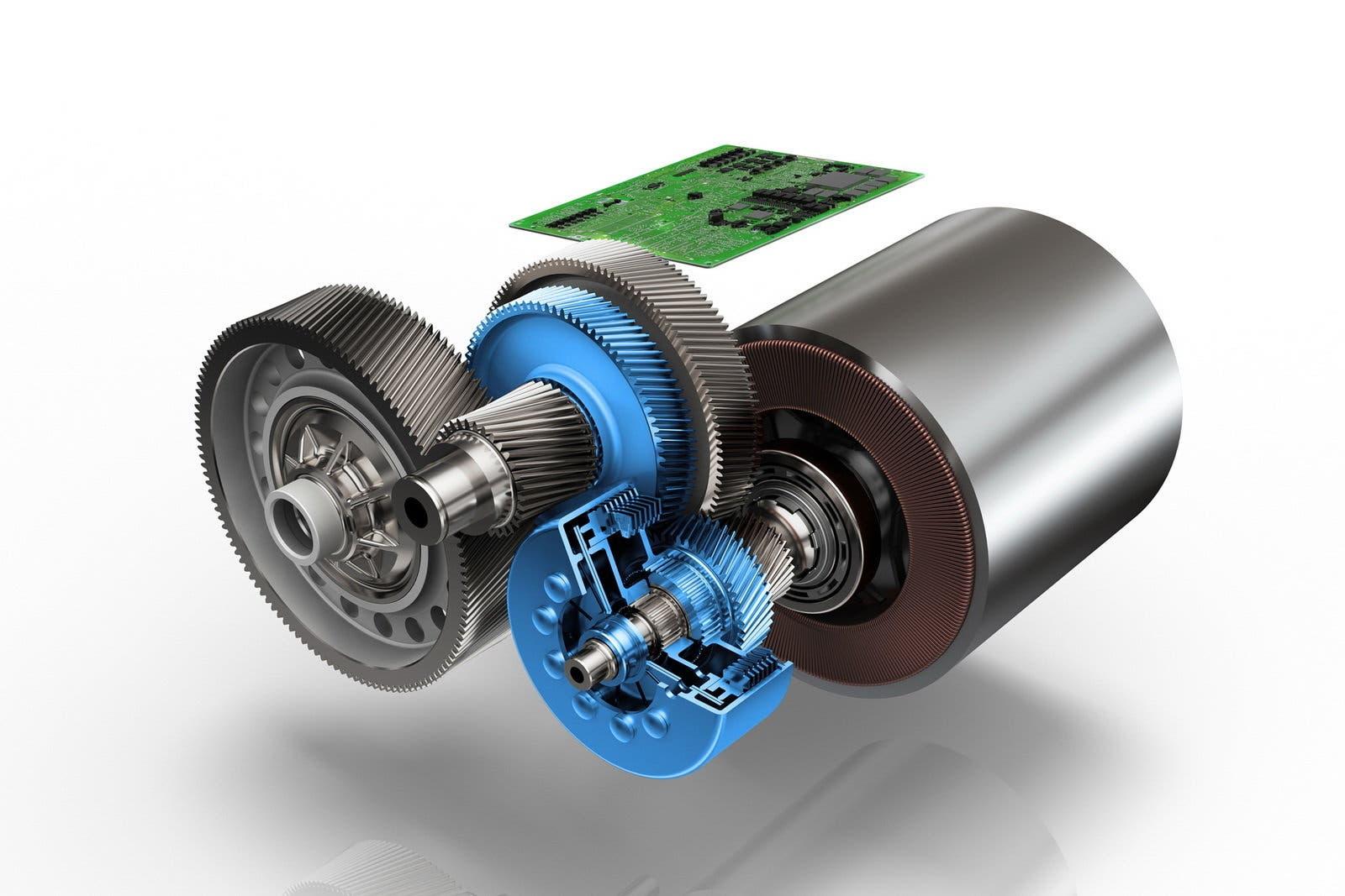 ZF motore elettrico cambio a due rapporti