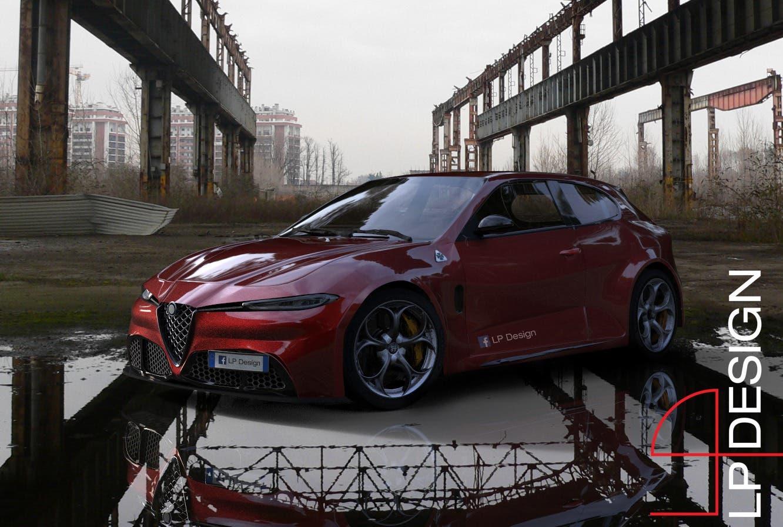 Alfa Romeo Giulietta LP Design