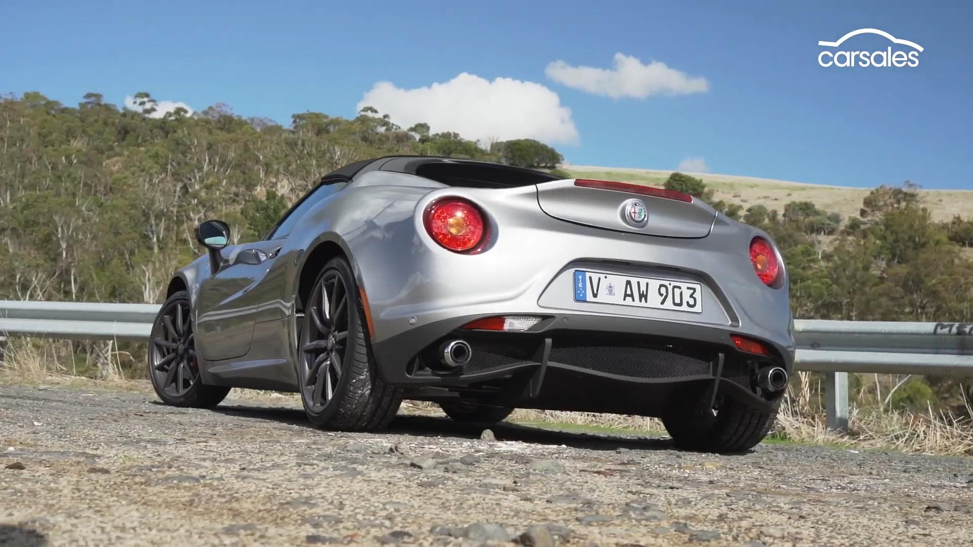 Alfa Romeo 4C Spider 2019 CarSales