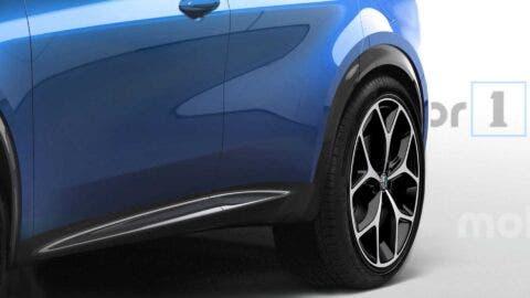 Alfa Romeo Tonale render Motor1.com