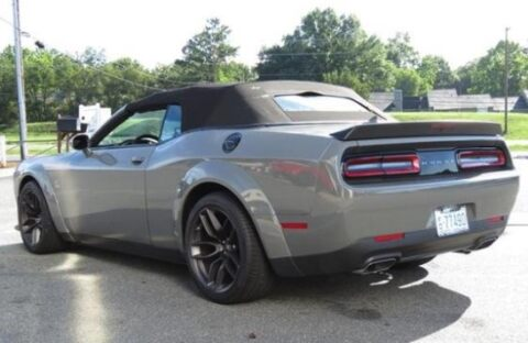 Dodge Challenger R/T Scat Pack Widebody 2019 convertibile