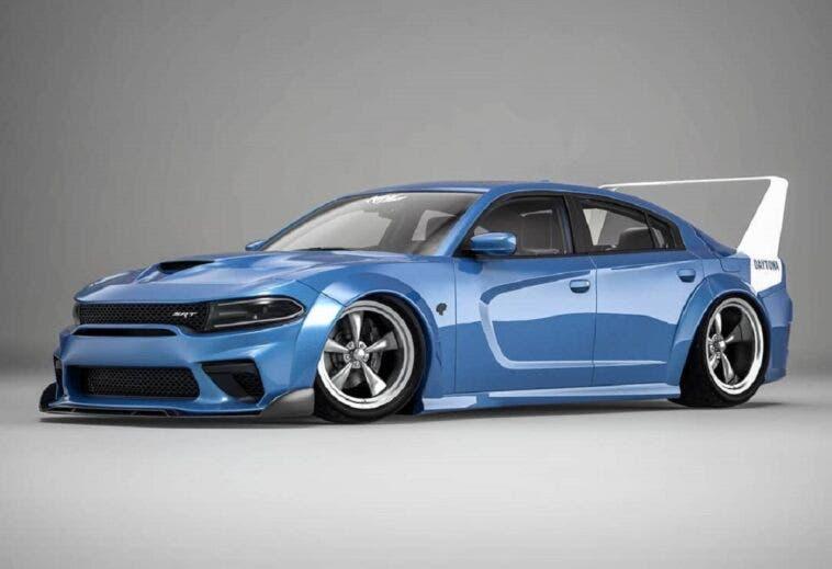 Dodge Charger SRT Hellcat Daytona 2020 render