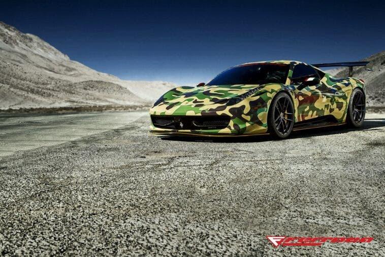 Ferrari 458 Italia Ferrada