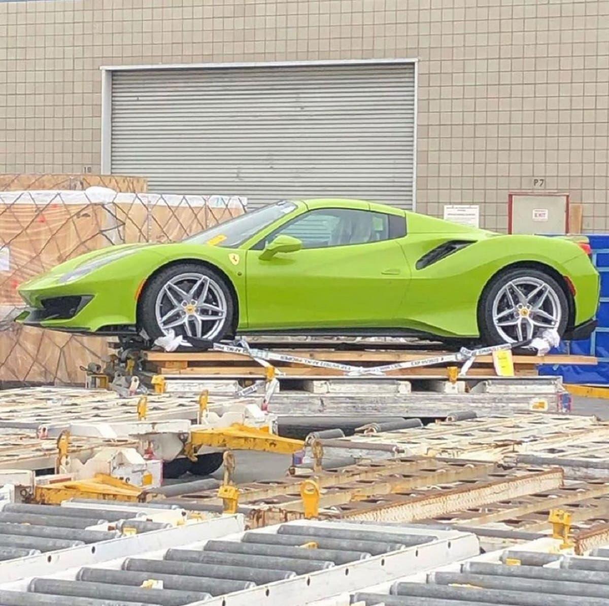 Ferrari F8 Tributo Colors: Ferrari 488 Pista Spider: Avvistato Un Esemplare Color