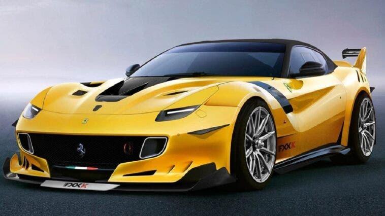 Ferrari F12XX render