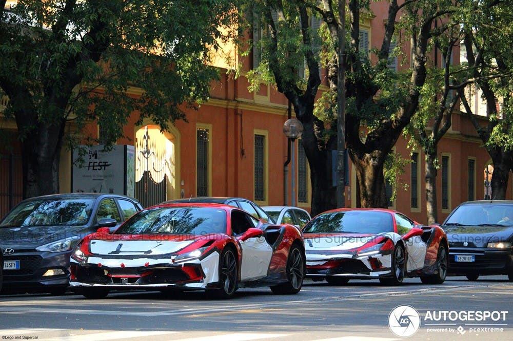 Ferrari F8 Tributo foto live