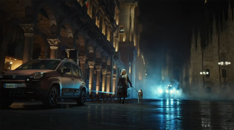 Fiat Panda Trussardi teaser
