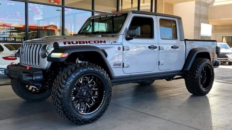 Jeep Gladiator Rubicon Hellcat