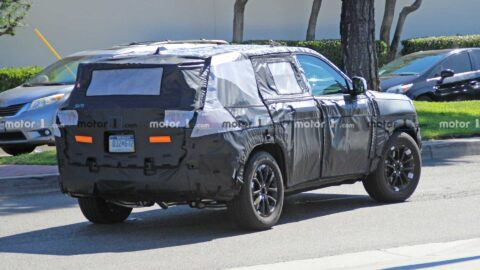 Jeep Grand Cherokee 2021 foto spia