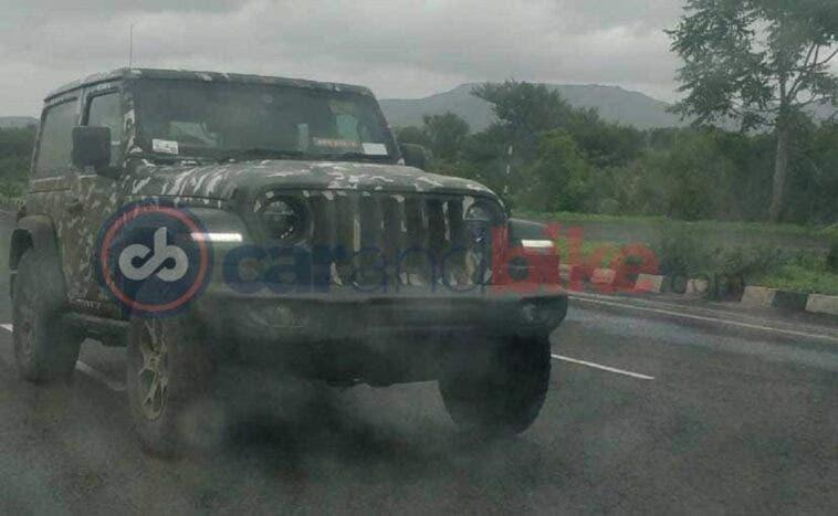 Jeep Wrangler 2019 nuove foto spia