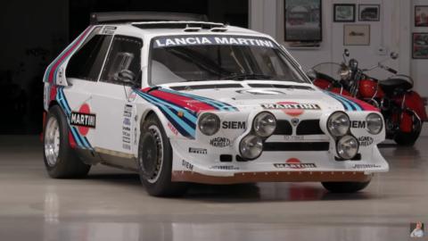 Lancia Delta S4 Jay Leno
