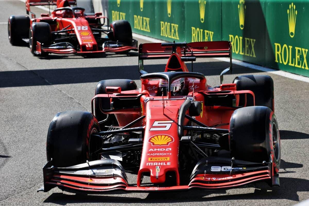 Sebastian Vettel e Charles Leclerc - Ferrari