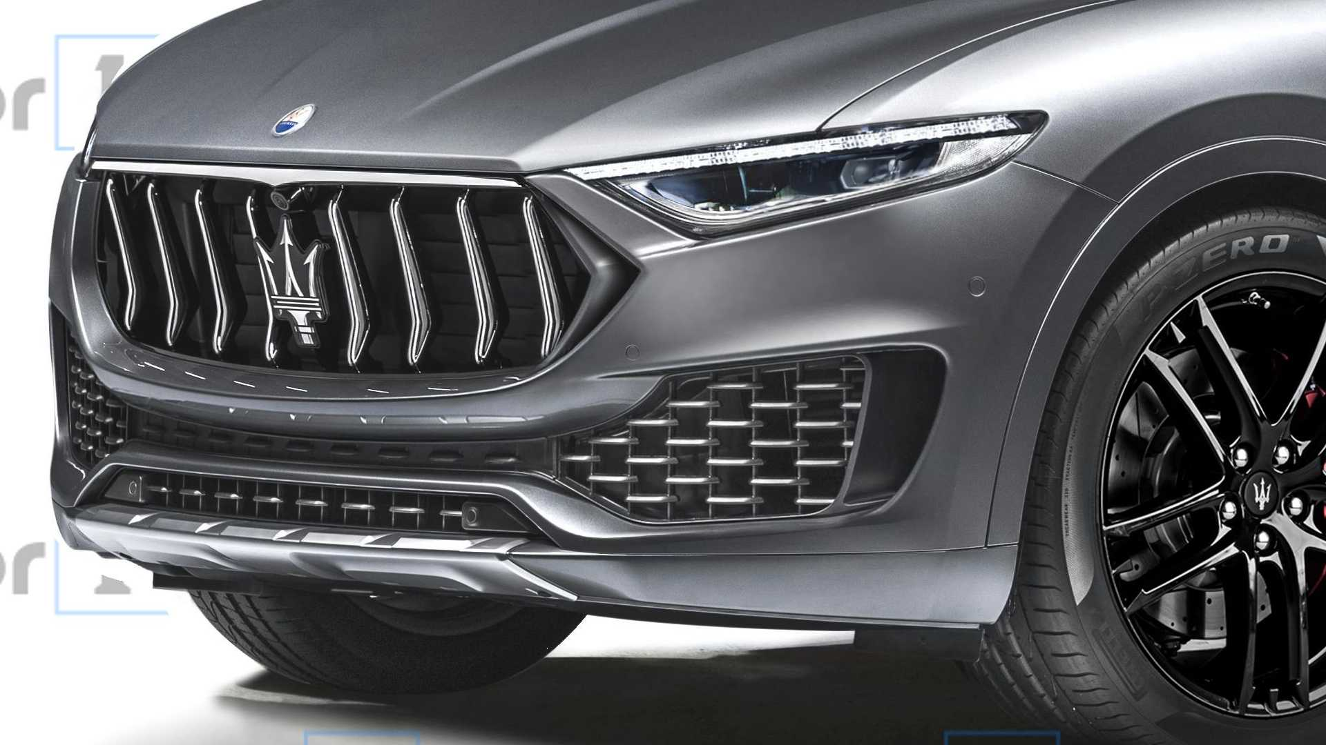 Maserati D-SUV render