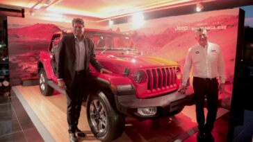 Nuova Jeep Wrangler India