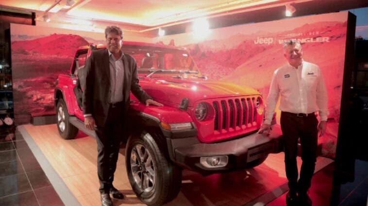 Nuova Jeep Wrangler India