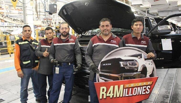 FCA Mexico festeggia la produzione del pick up RAM numero 4 milioni - ClubAlfa.it