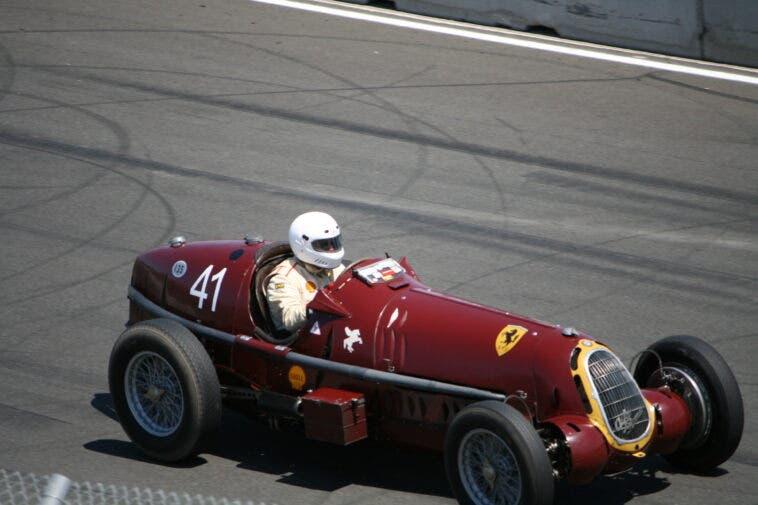 Alfa Romeo 8C di Tazio Nuvolari