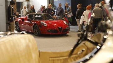 Alfa Romeo 4C Salone Auto e Moto d'Epoca 2018