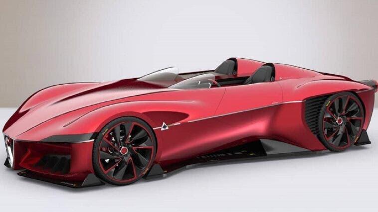 Alfa Romeo Disco Volante concept render