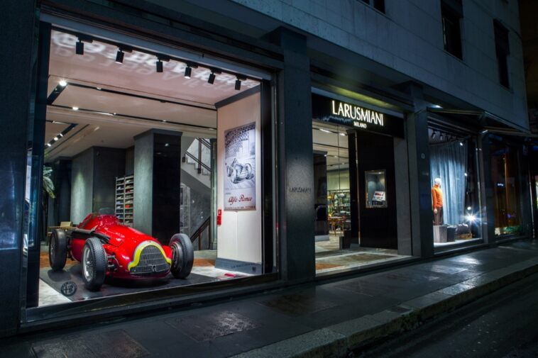 Alfa Romeo GP Tipo 159 Alfetta Boutique di Larusmiani