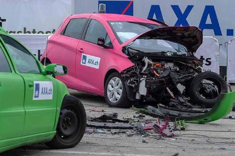 Auto elettriche incidenti