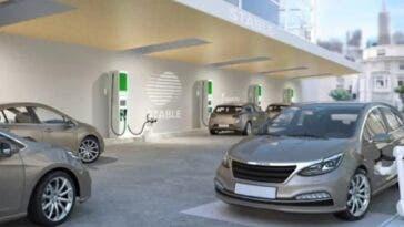 Auto elettriche stazioni di ricarica