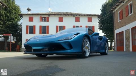 Ferrari F8 Tributo Auto Express