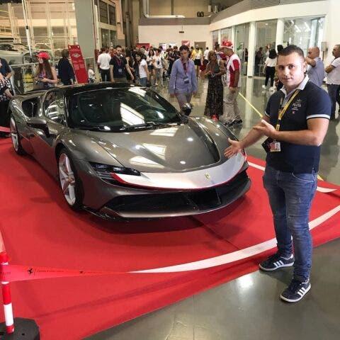 Ferrari SF90 Stradale stabilimento