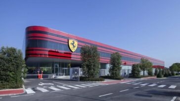 Ferrari stabilimento Maranello