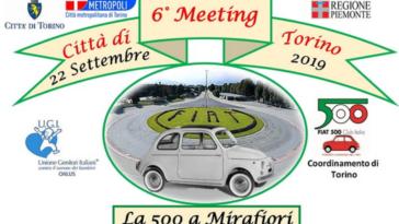Fiat 500 sesto raduno Club Italia