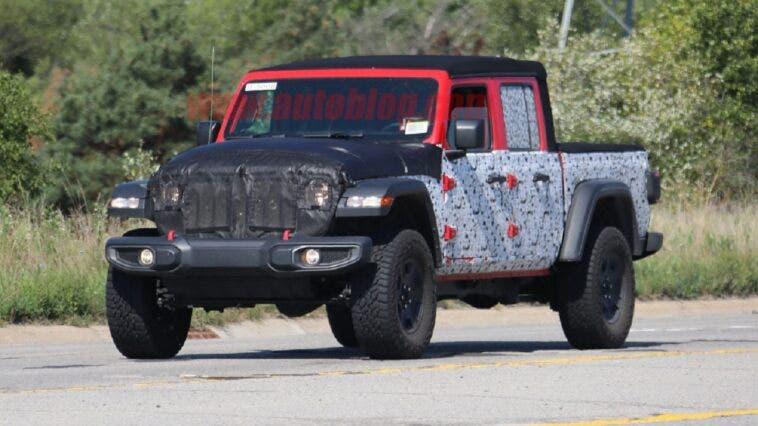 Jeep Gladiator motore V8