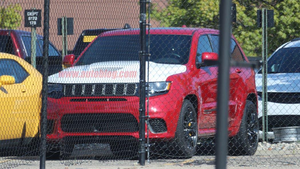 Jeep Grand Cherokee Demon foto spia