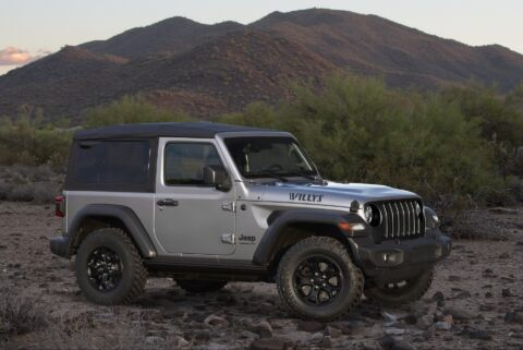 Jeep Wrangler Willys 2020