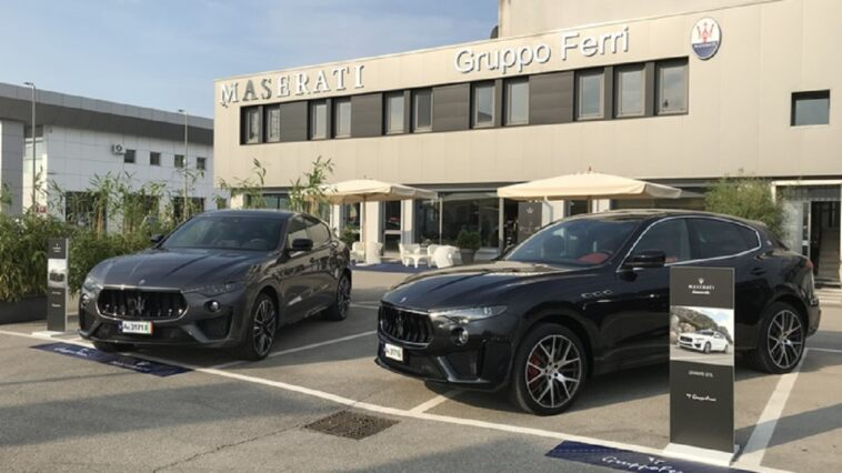 Maserati Levante GTS e Trofeo Udine