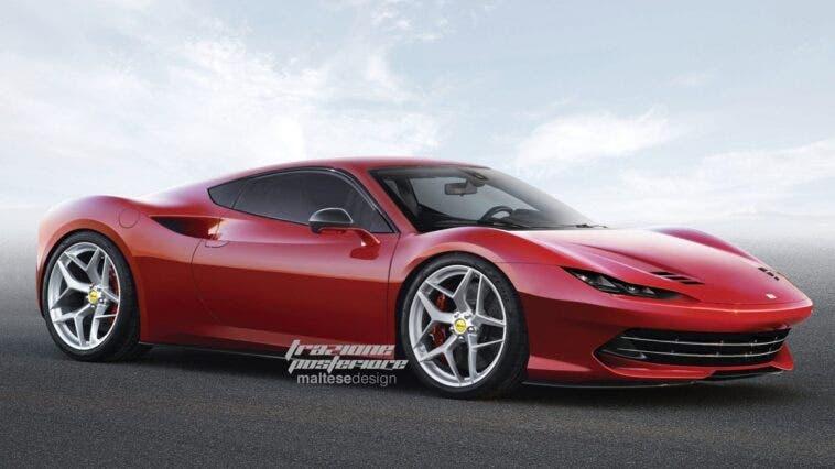 Nuova Ferrari Dino render