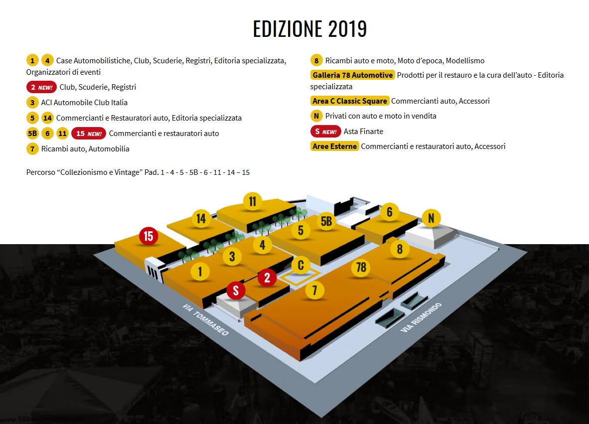 Salone Auto e Moto d'Epoca 2019