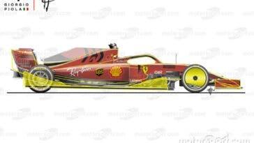F1 2021: regolamento aerodinamica monoposto