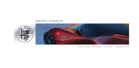 Alfa Romeo Concept Stradale hypercar