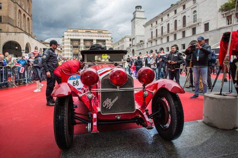 Alfa Romeo alla Mille Miglia 2020