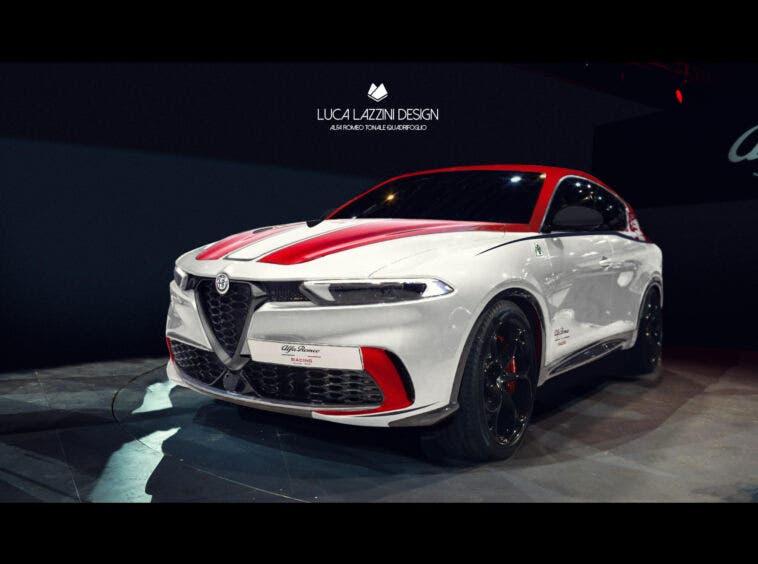 Alfa Romeo Tonale Suv F1 Edition Render