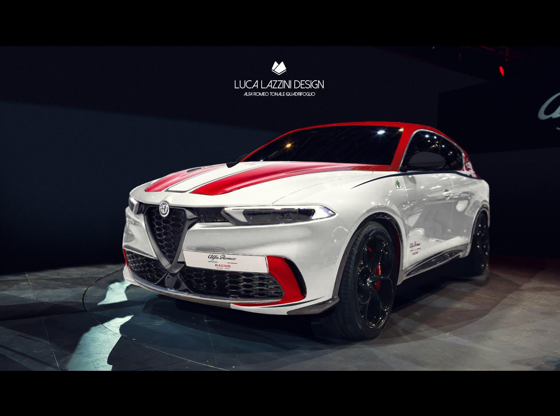 Alfa Romeo Tonale F1 Edition, un render anticipa il Suv ...