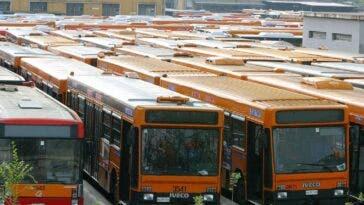 Autobus parco circolante Italia