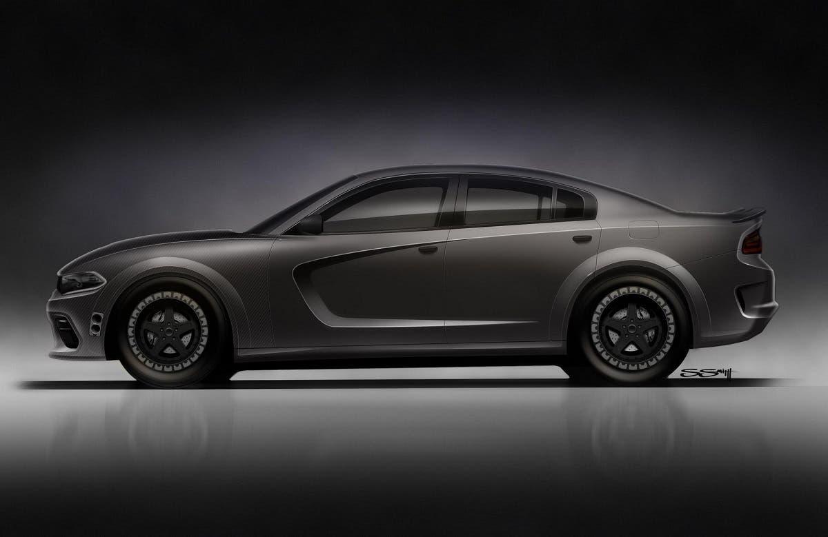 Dodge Charger SRT Hellcat Widebody SpeedKore teaser