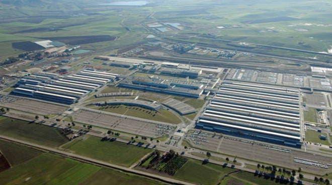 FCA stabilimento Melfi