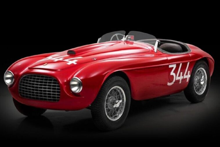 Ferrari 166 Mille Miglia Touring