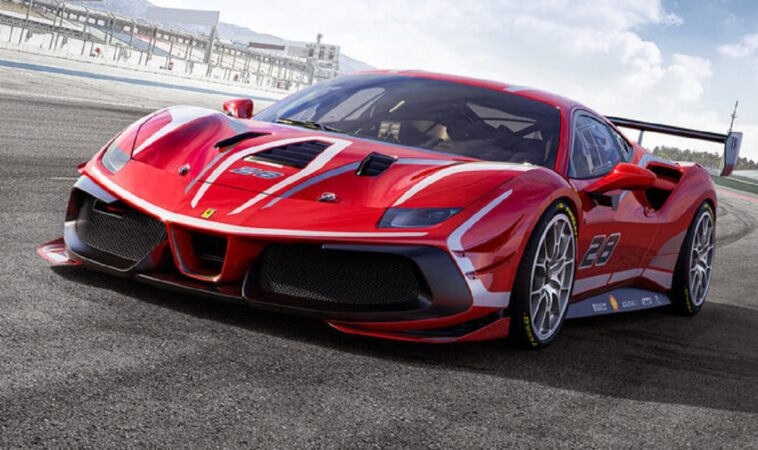 Ferrari 488 Challenge Evo
