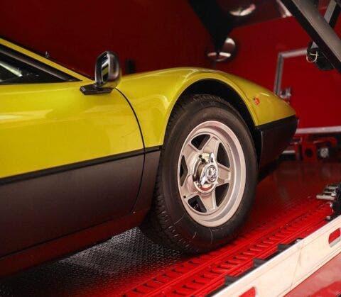 Ferrari 512 BBi Verde Germolio