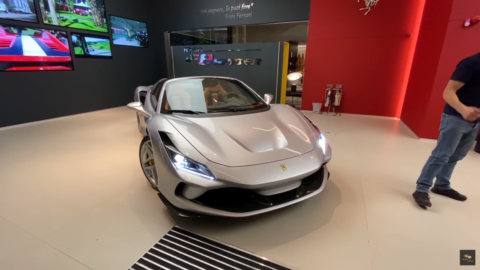 Ferrari F8 Spider HR Owen